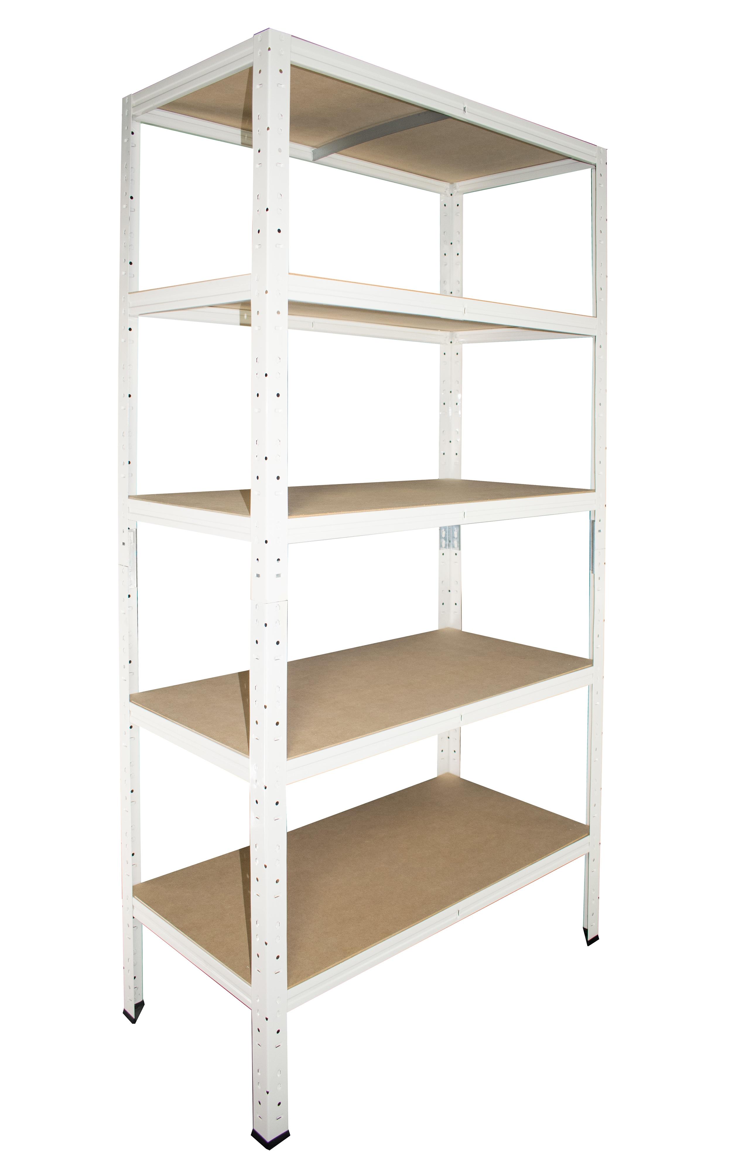 Steckregal Weiß steckregal 200x110x30 cm weiß 5 böden kellerregal lagerregal